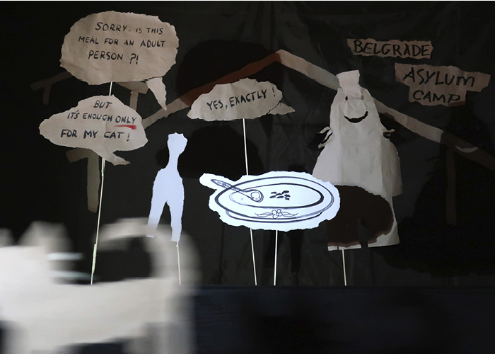 Borderline Offensive Paper Puppet Poetry